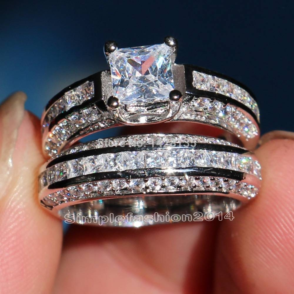 Online Get Cheap Diamond Wedding Band Aliexpress | Alibaba Group Within Cheap Diamond Wedding Bands (Gallery 7 of 15)
