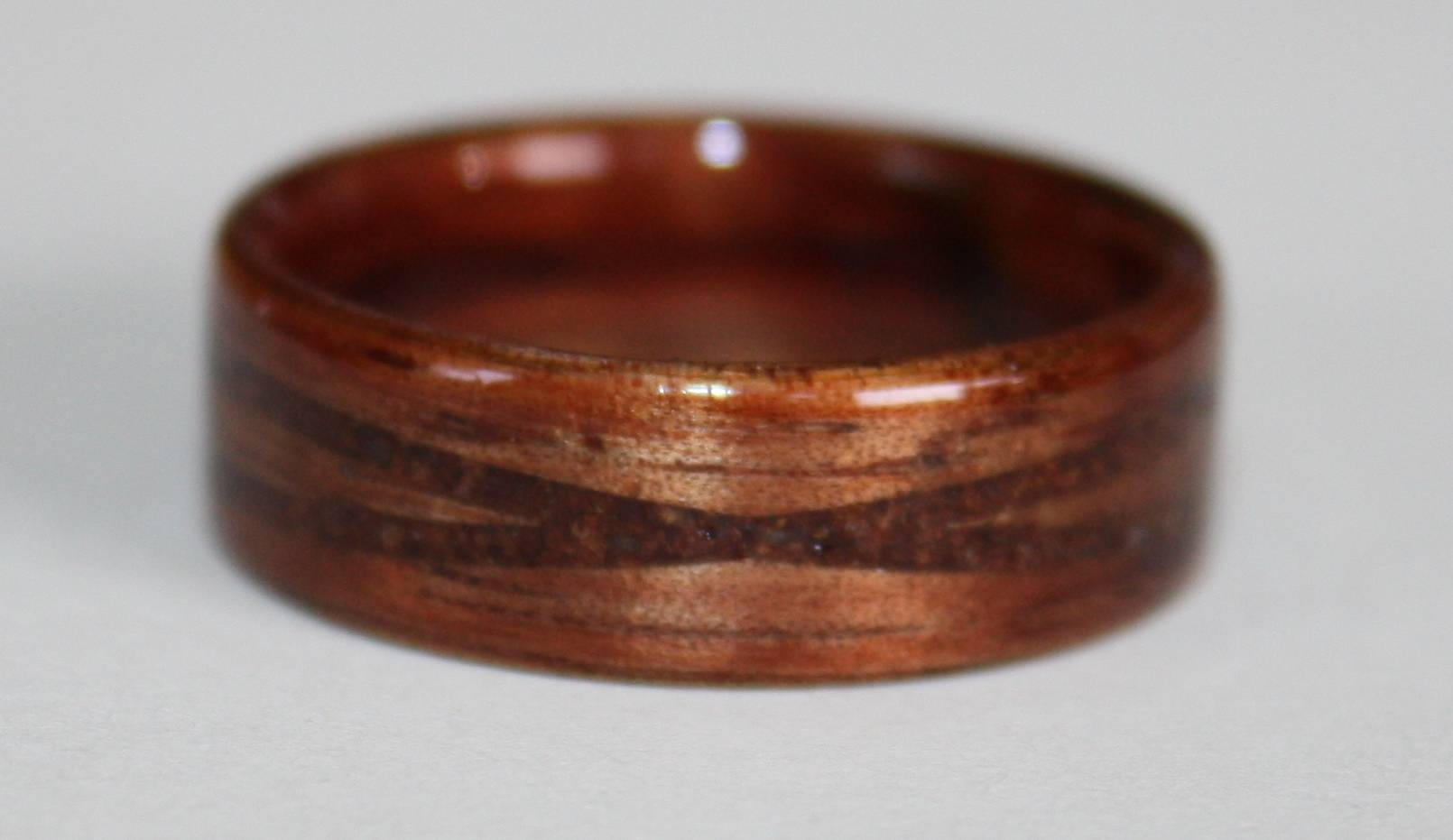 Original Gallery Of Custom Made Touch Wood Rings Intended For Wood Wedding Bands (View 7 of 15)