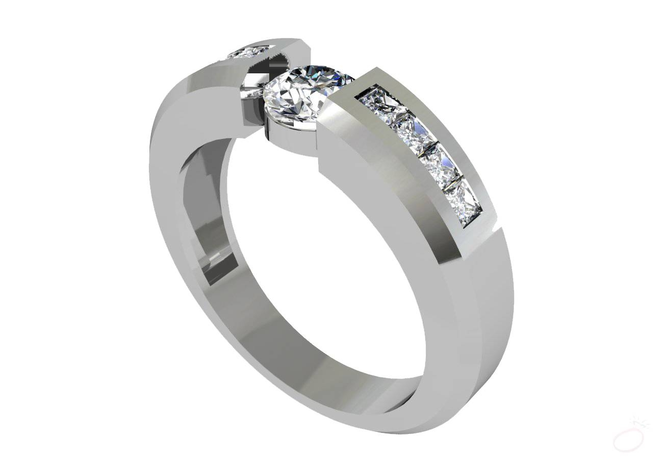 Orionz Jewels – Diamond Engagement Ring For Men | Platinum Ring Within 2018 Mens Wedding Bands Platinum With Diamonds (Gallery 8 of 15)
