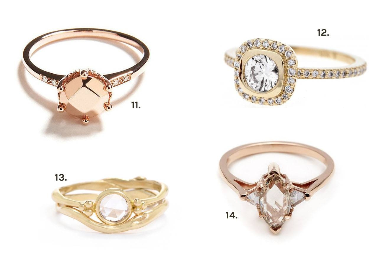 Our Favorite Unique Engagement Rings | Green Wedding Shoes Pertaining To Unique Engagement Rings (View 9 of 15)