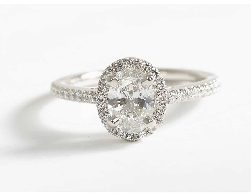 Oval Diamond Engagement Rings | Wedding, Promise, Diamond In Oval Engagement Rings (View 9 of 15)