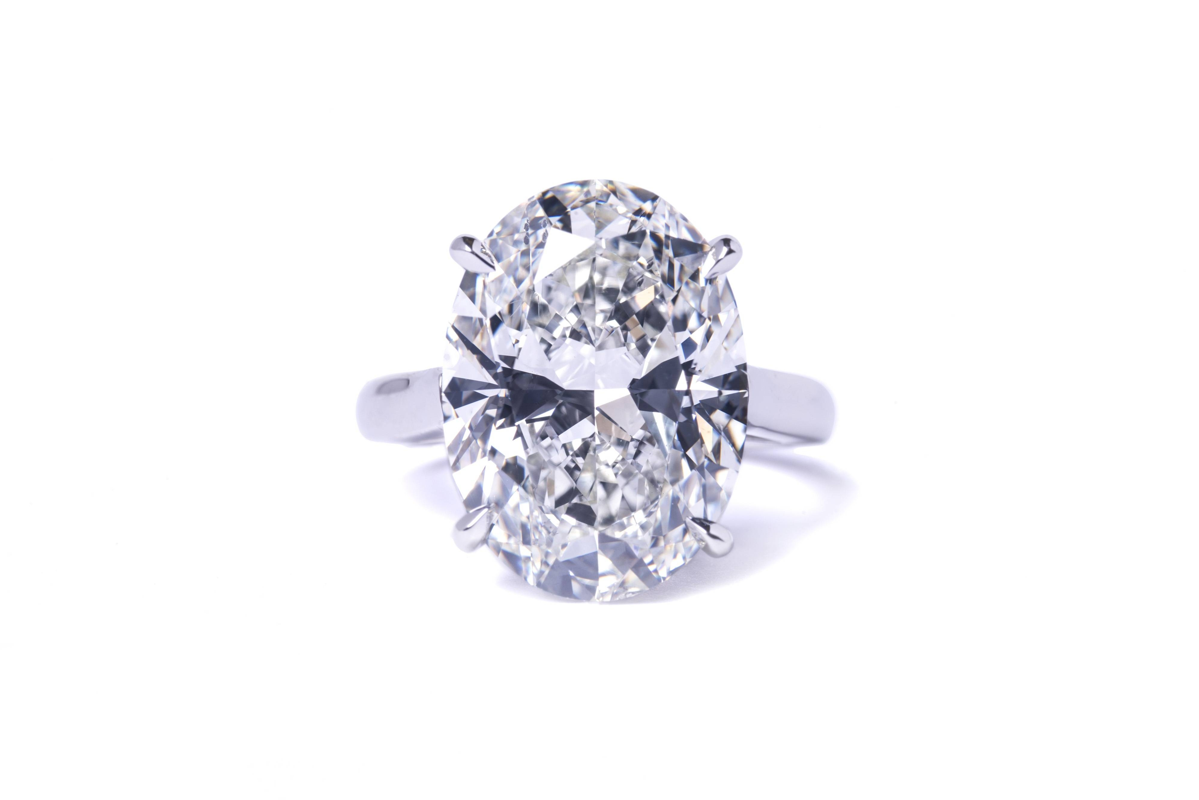 Oval Solitaire Diamond Engagement Ring | Atlanta Engagement Rings Pertaining To Solitare Diamond Engagement Rings (View 10 of 15)