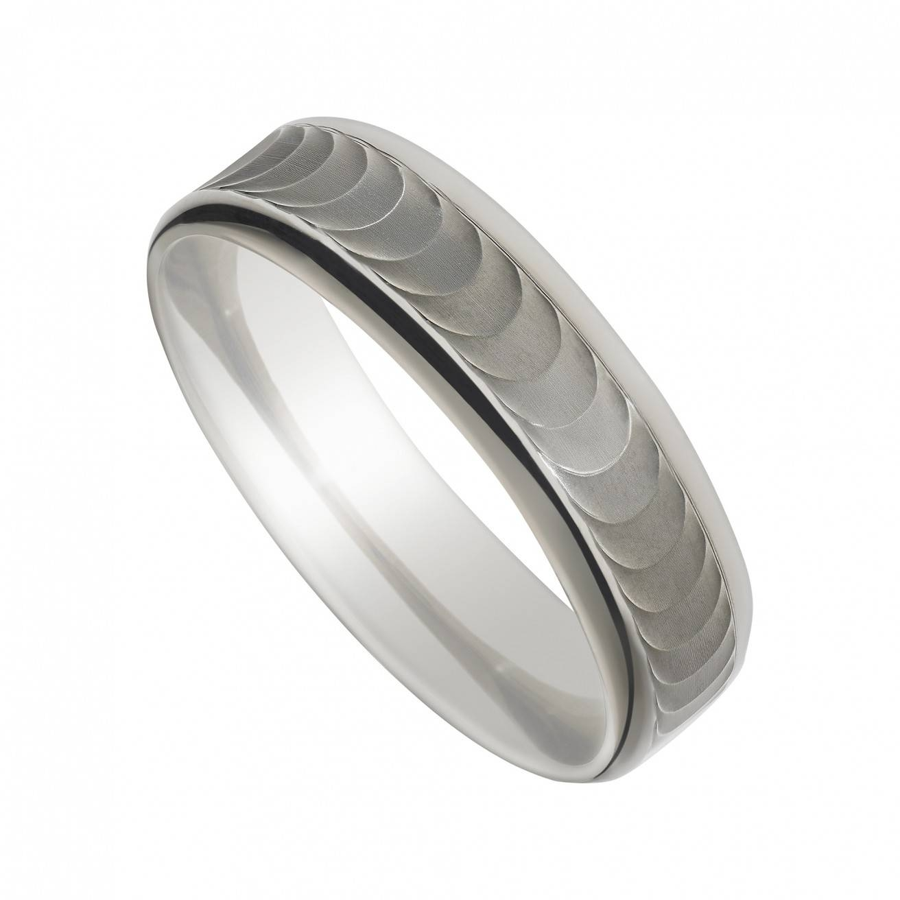Palladium 950 5Mm Superior Court Plain Wedding Ring With Regard To 2017 5Mm Palladium Wedding Bands (View 8 of 15)