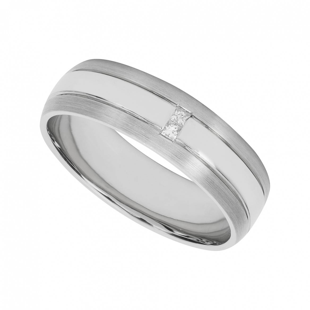 Palladium Wedding Rings Within Mens Wedding Rings Palladium (Gallery 7 of 15)
