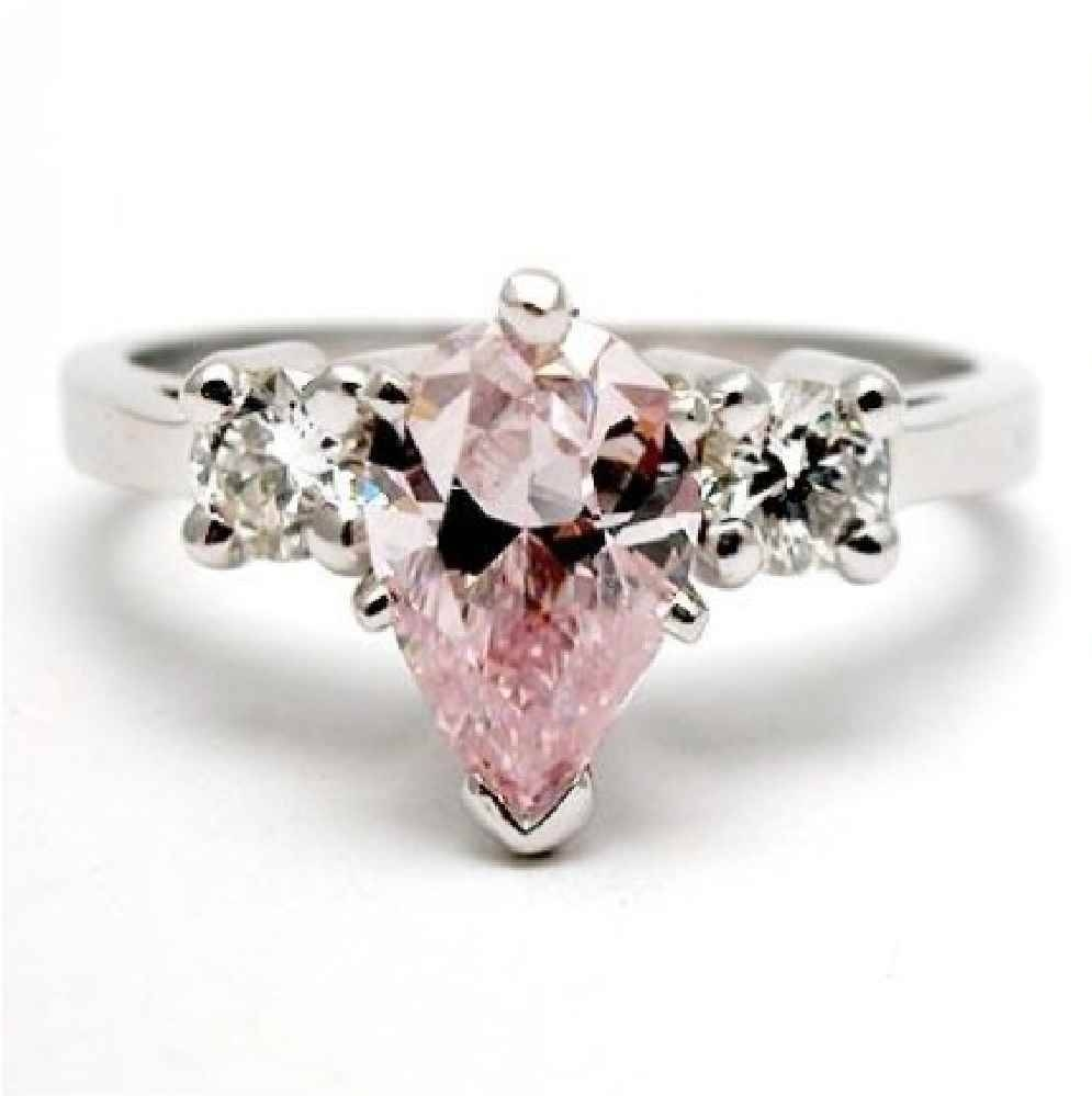 Pink Diamond Engagement Rings South Africa | Best Images With Regard To Pink And Diamond Engagement Rings (View 11 of 15)