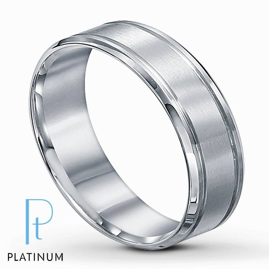 Platinum Mens Wedding Ring Endearing Platinum Wedding Bands For Throughout Most Popular Men Platinum Wedding Bands (View 5 of 15)