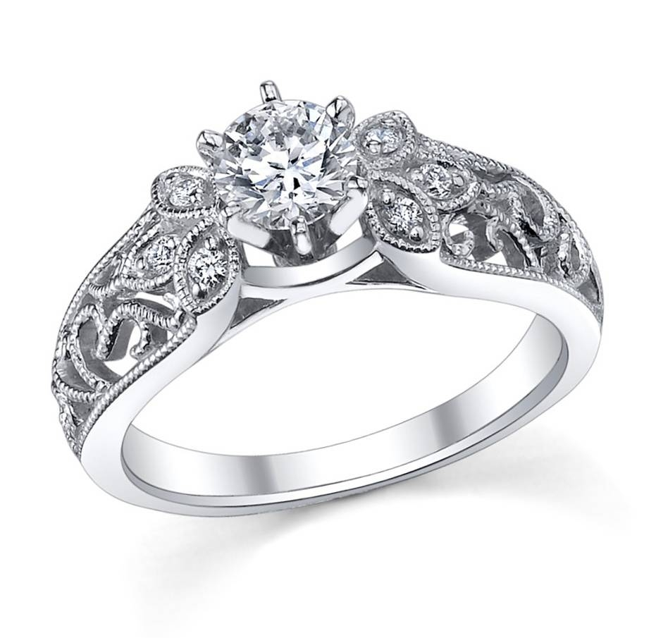 Featured Photo of Platinum Wedding Rings For Women