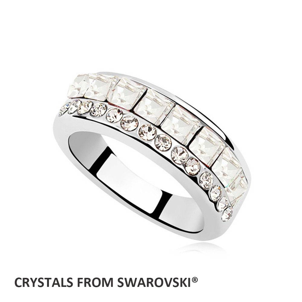 Popular Swarovski Wedding Bands Buy Cheap Swarovski Wedding Bands Within Swarovski Wedding Bands (Gallery 15 of 15)