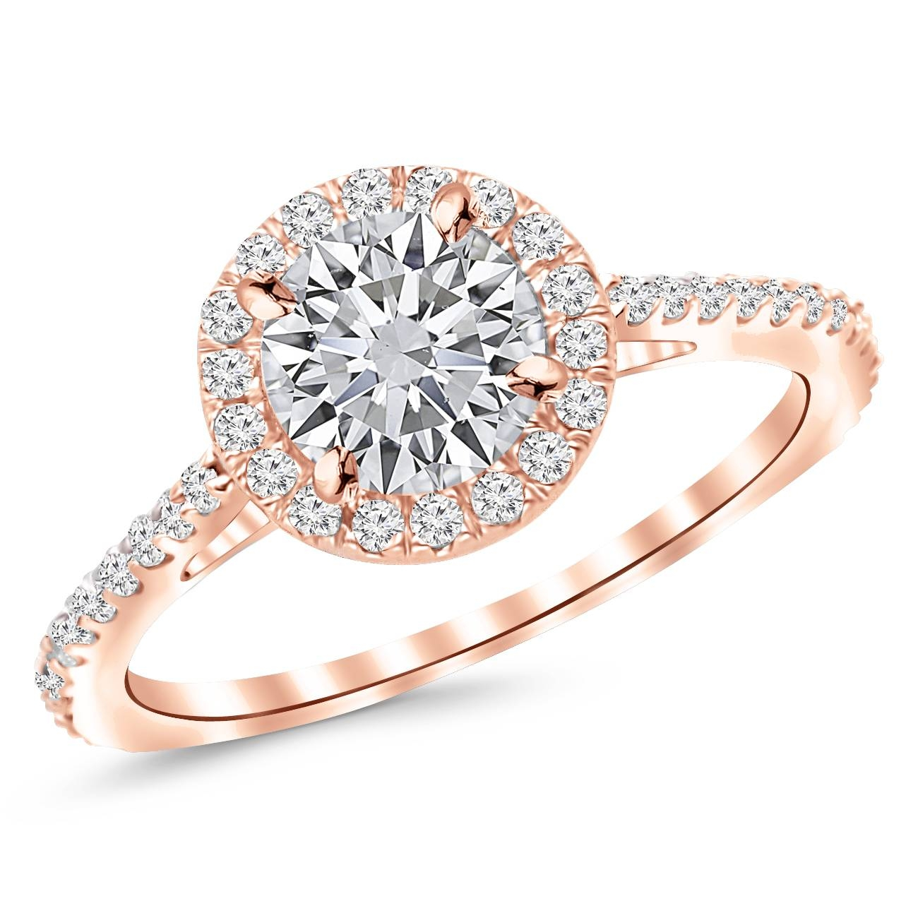 Pre Set Diamond Engagement Rings | Houston Diamond District Regarding Houston Engagement Rings (View 8 of 15)