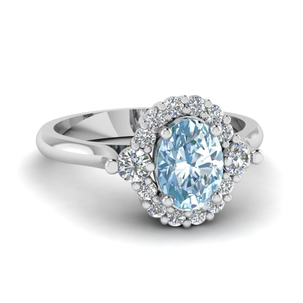 Purchase Our Aquamarine Engagement Rings At Affordable Prices Intended For Diamond Aquamarine Engagement Rings (View 11 of 15)