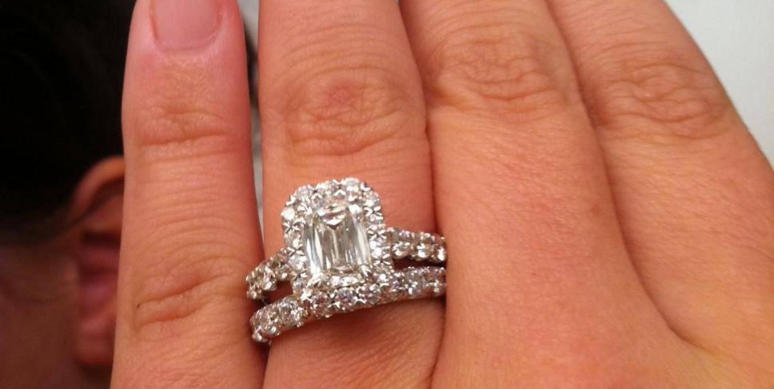 Ring : Favorite Solitaire Engagement Ring With Wedding Band Throughout Recent Solitaire Engagement Rings And Wedding Bands (View 15 of 15)