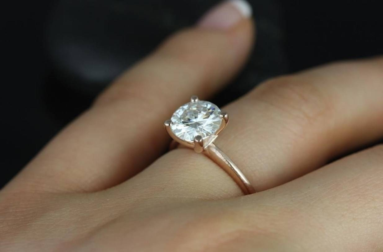 Ring : Pagespeed Noscript Beautiful Solitaire Ring With Diamond Within Solitare Diamond Engagement Rings (Gallery 15 of 15)