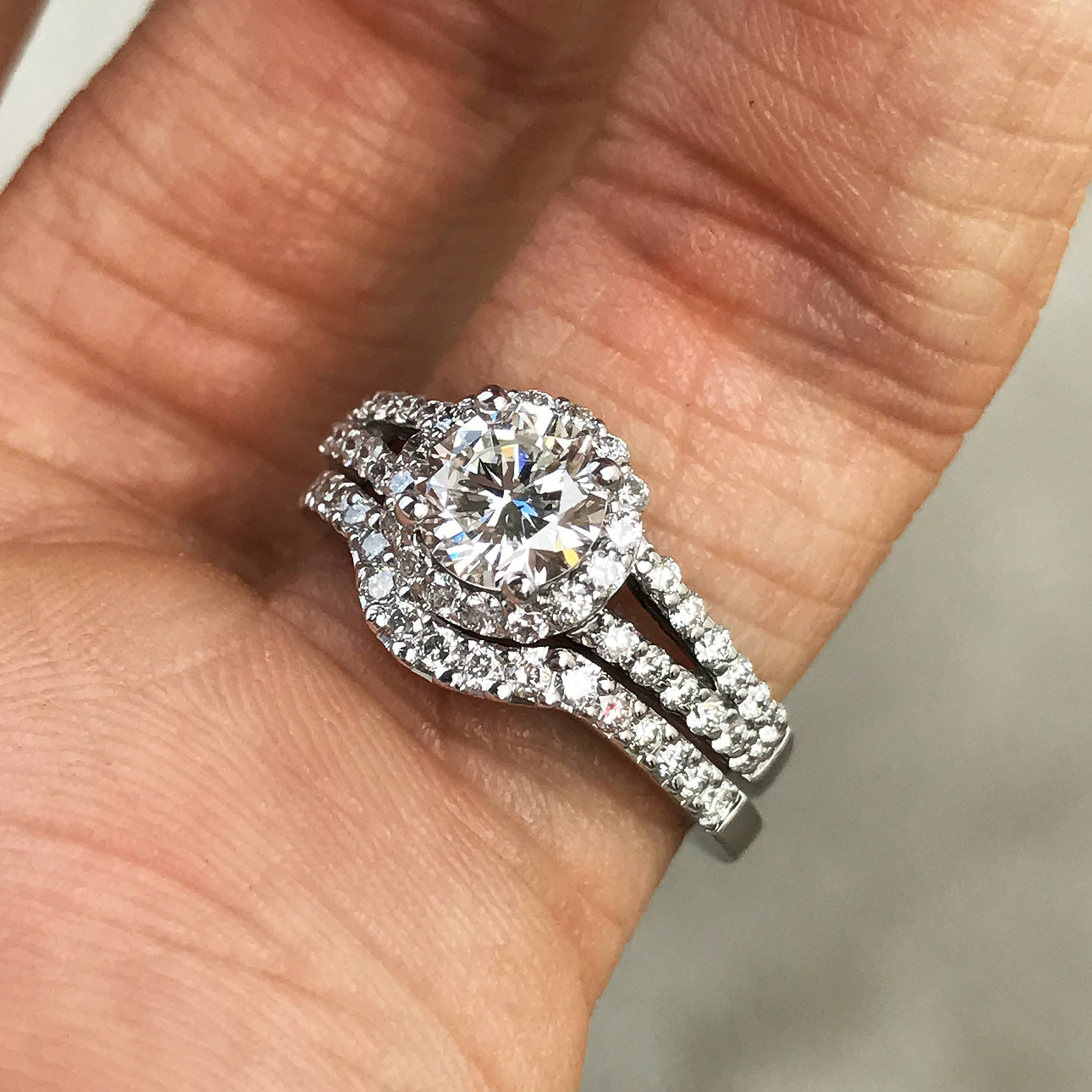 with plain engagement ring ideas wedding please unique rings halo pave band bands