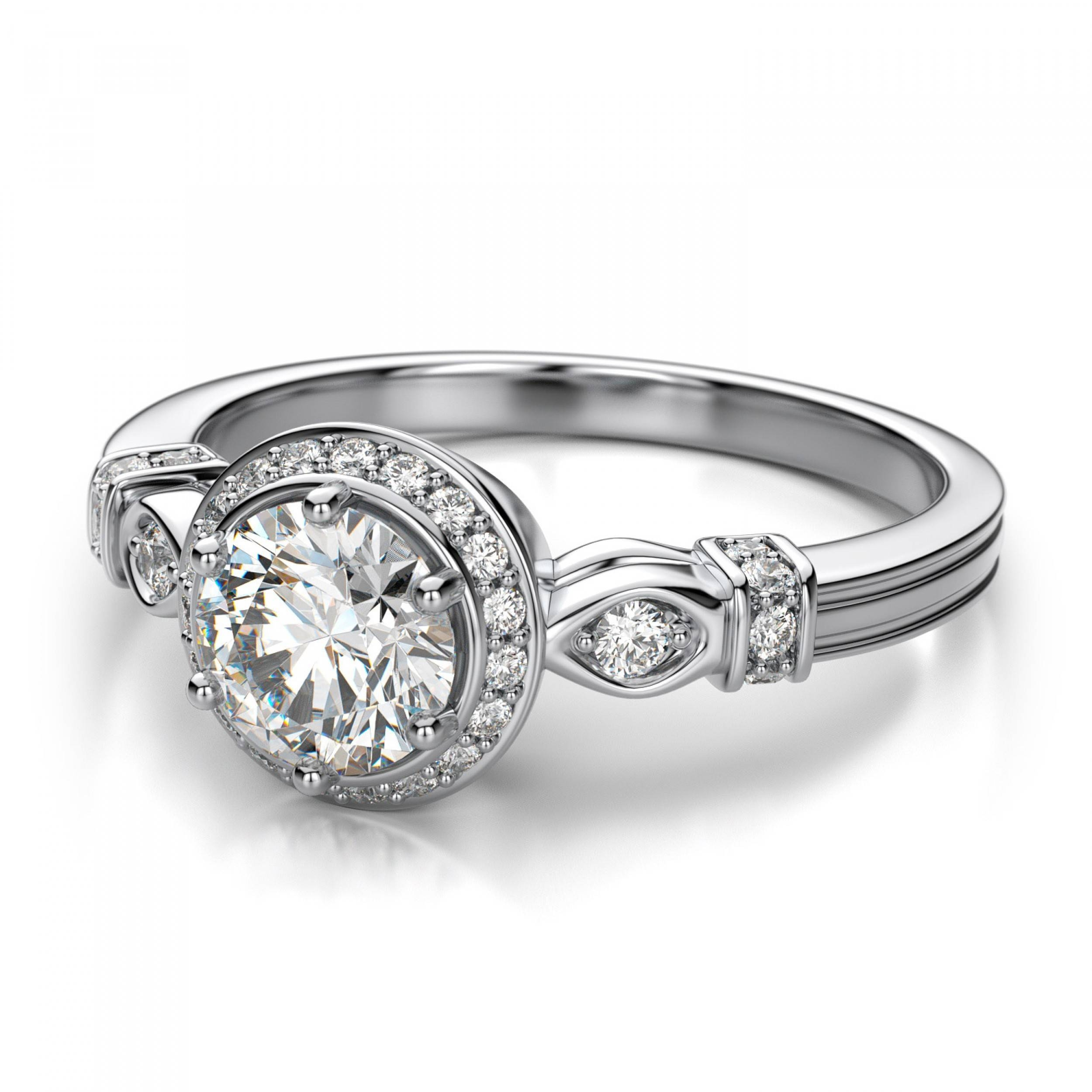 engagement inspirations vintage within of promise round antique wedding stud rings diamond