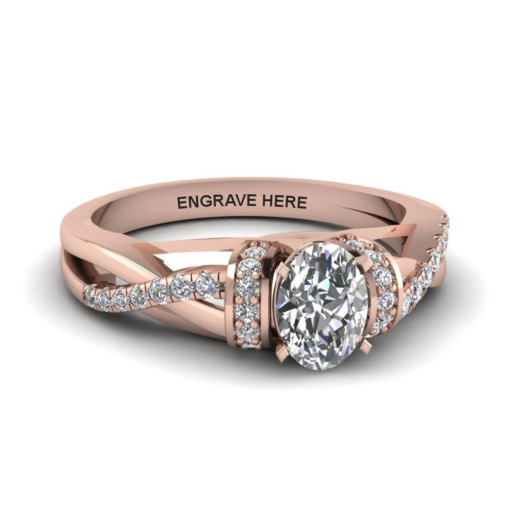 Shop For Exclusive Side Stone Engagement Rings Online Intended For Side Stone Engagement Rings (Gallery 14 of 15)