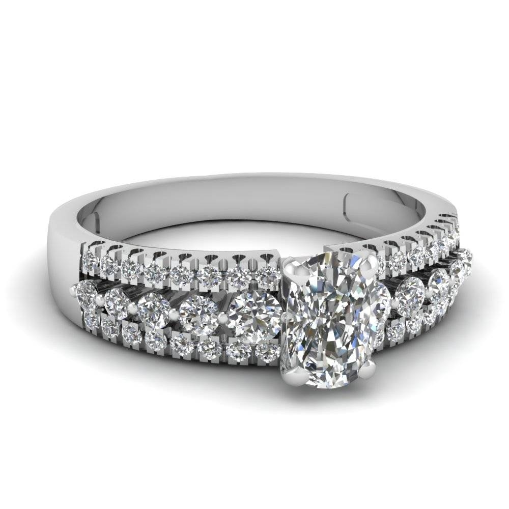 Shop For Exclusive Side Stone Engagement Rings Online Throughout Engagement Rings With Side Diamonds (View 6 of 15)