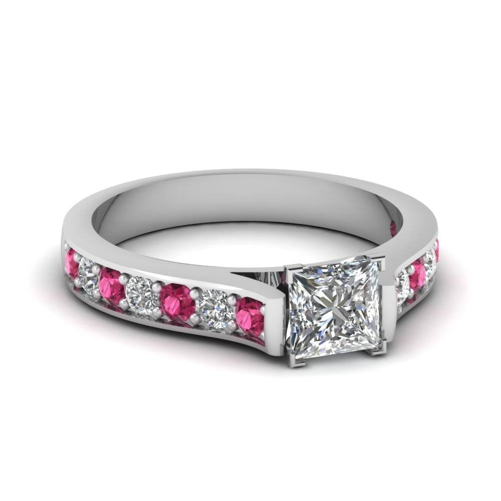 Shop For Exclusive Side Stone Engagement Rings Online Within Wedding Rings Mounts Without Center Stone (View 13 of 15)