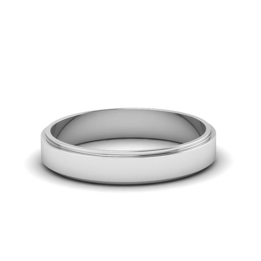 Silver Wedding Bands | Fascinating Diamonds Within Silver Wedding Bands For Him (View 4 of 15)