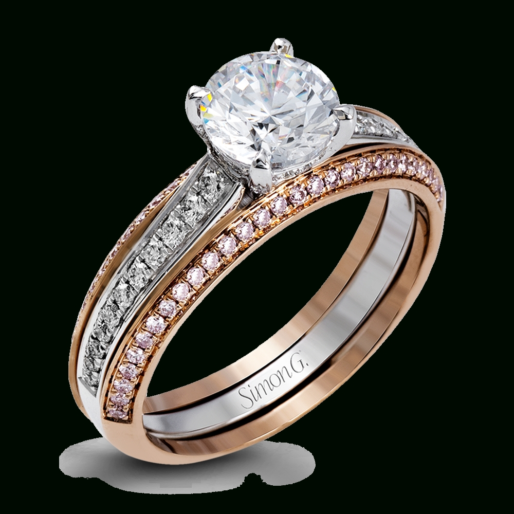Simon G. Jewelry – Designer Engagement Rings, Bands And Sets Regarding Best And Newest Pink And Diamond Wedding Bands (Gallery 11 of 15)