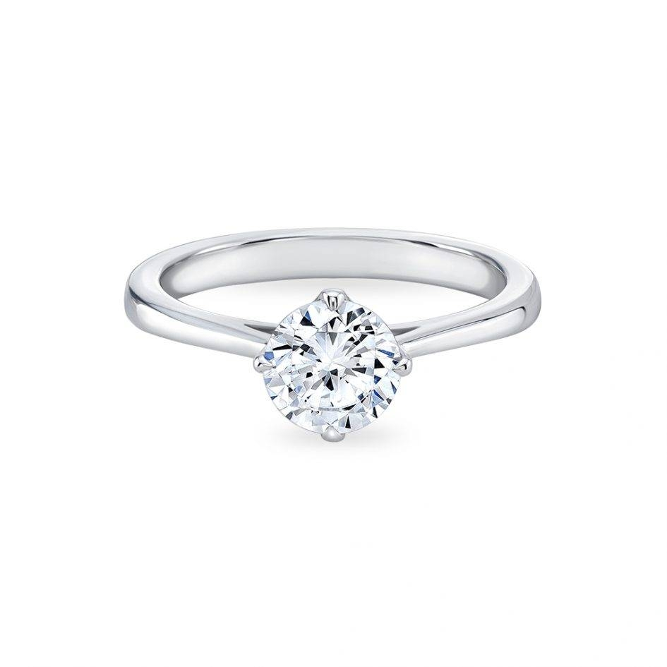 Simple Diamond Rings Choice Image – Jewelry Design Examples Throughout Simple Modern Engagement Rings (View 9 of 15)