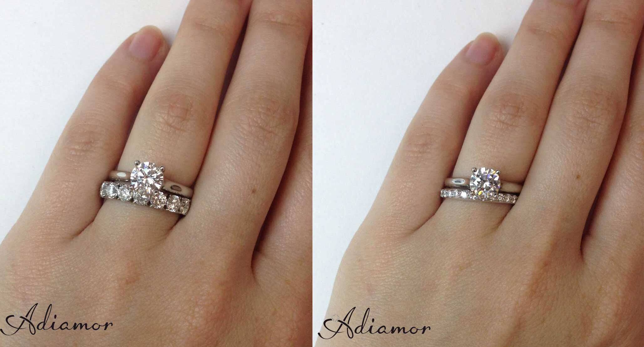 Solitaire Engagement Ring And Diamond Wedding Band Tags : Wedding In 2018 Solitaire Engagement Rings With Wedding Bands (View 4 of 15)