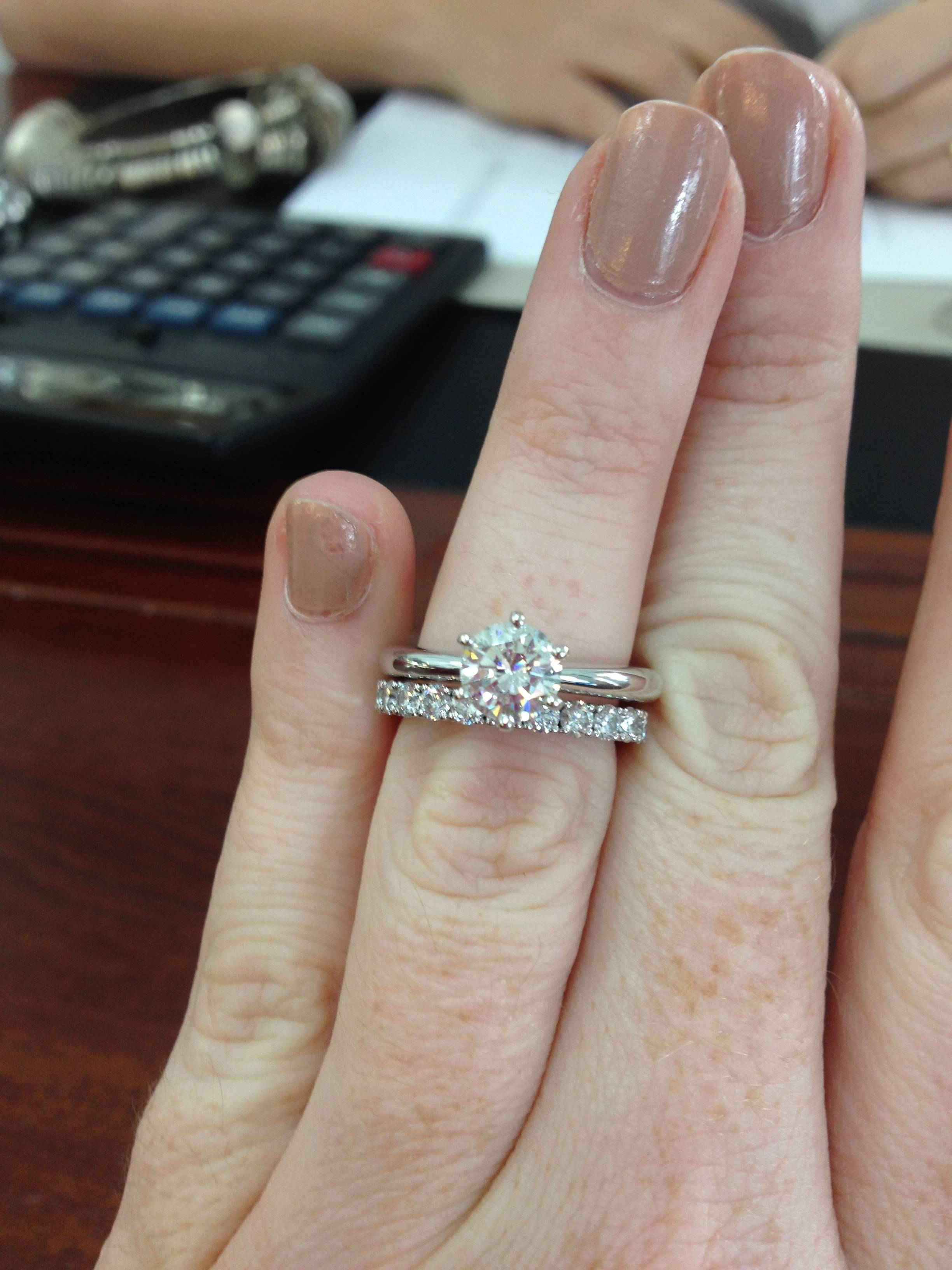 Featured Photo of Solitaire Engagement Rings And Wedding Bands