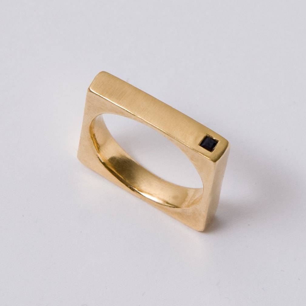 Featured Photo Of Square Wedding Bands