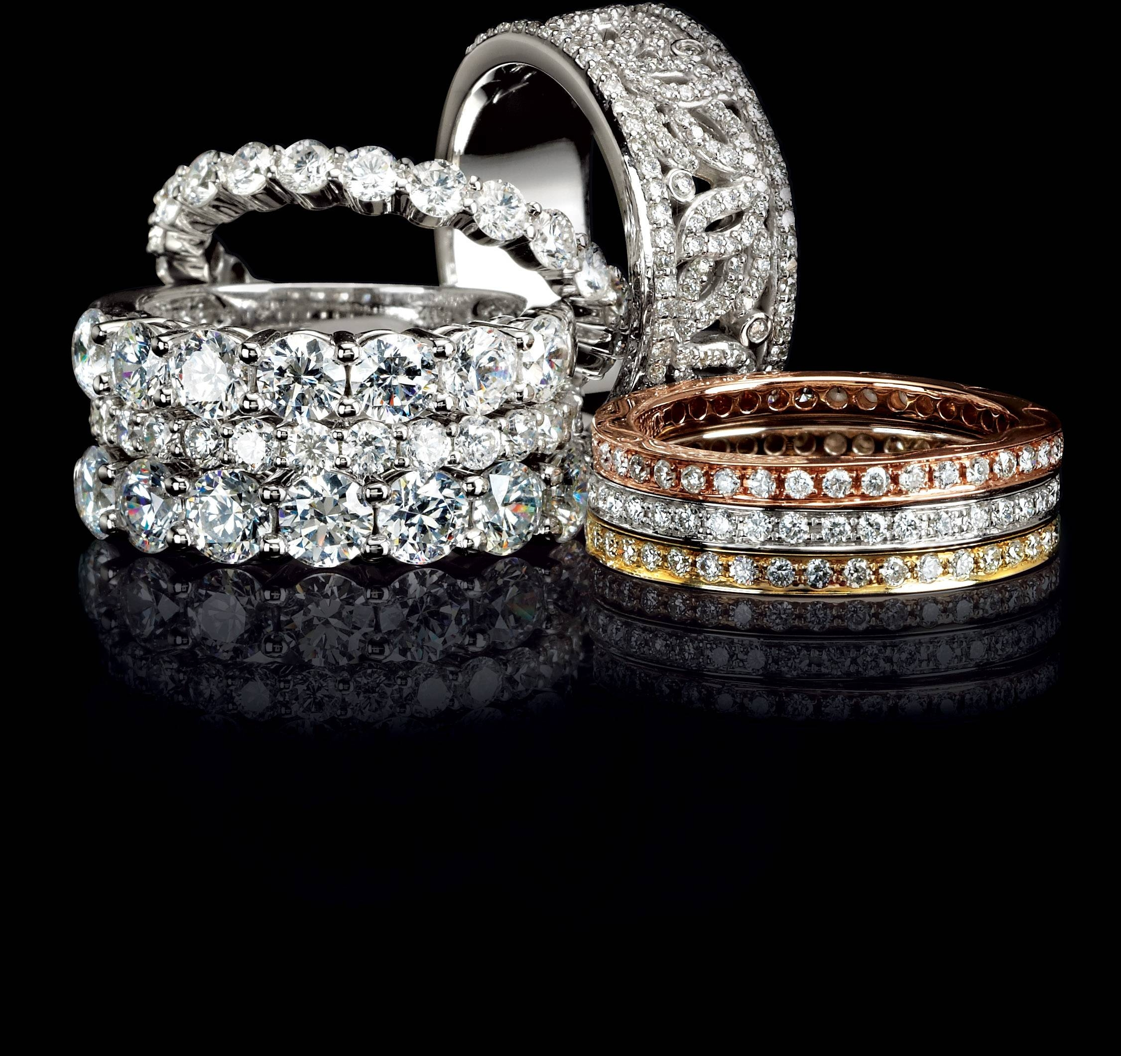 Stackable Diamond Band – Jewelry Store San Diego | Custom Intended For San Diego Engagement Rings (View 8 of 15)