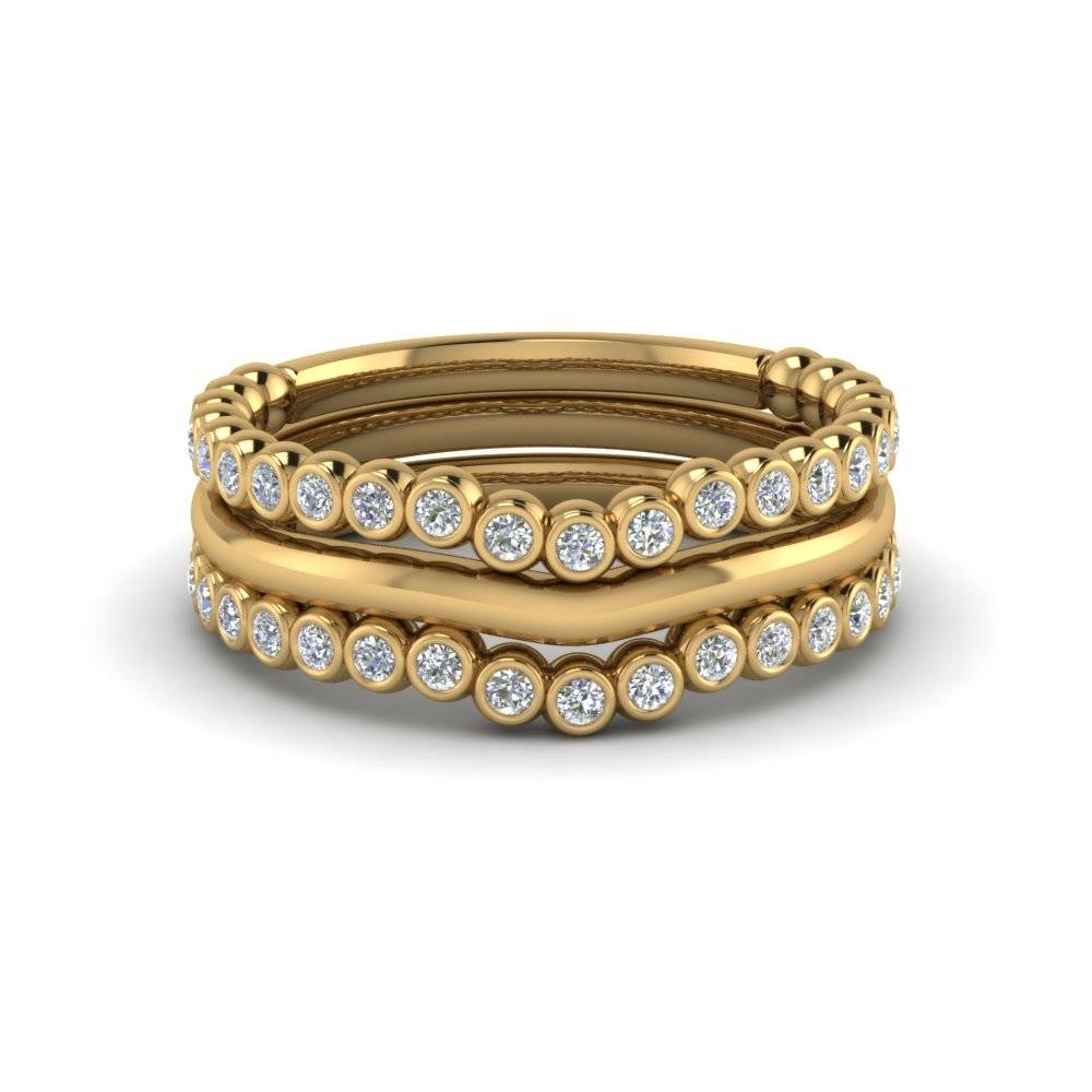 Stackable Rings & Bands With Fancy Diamond And Gemstone For Most Recently Released Stackable Wedding Bands For Women (View 8 of 15)