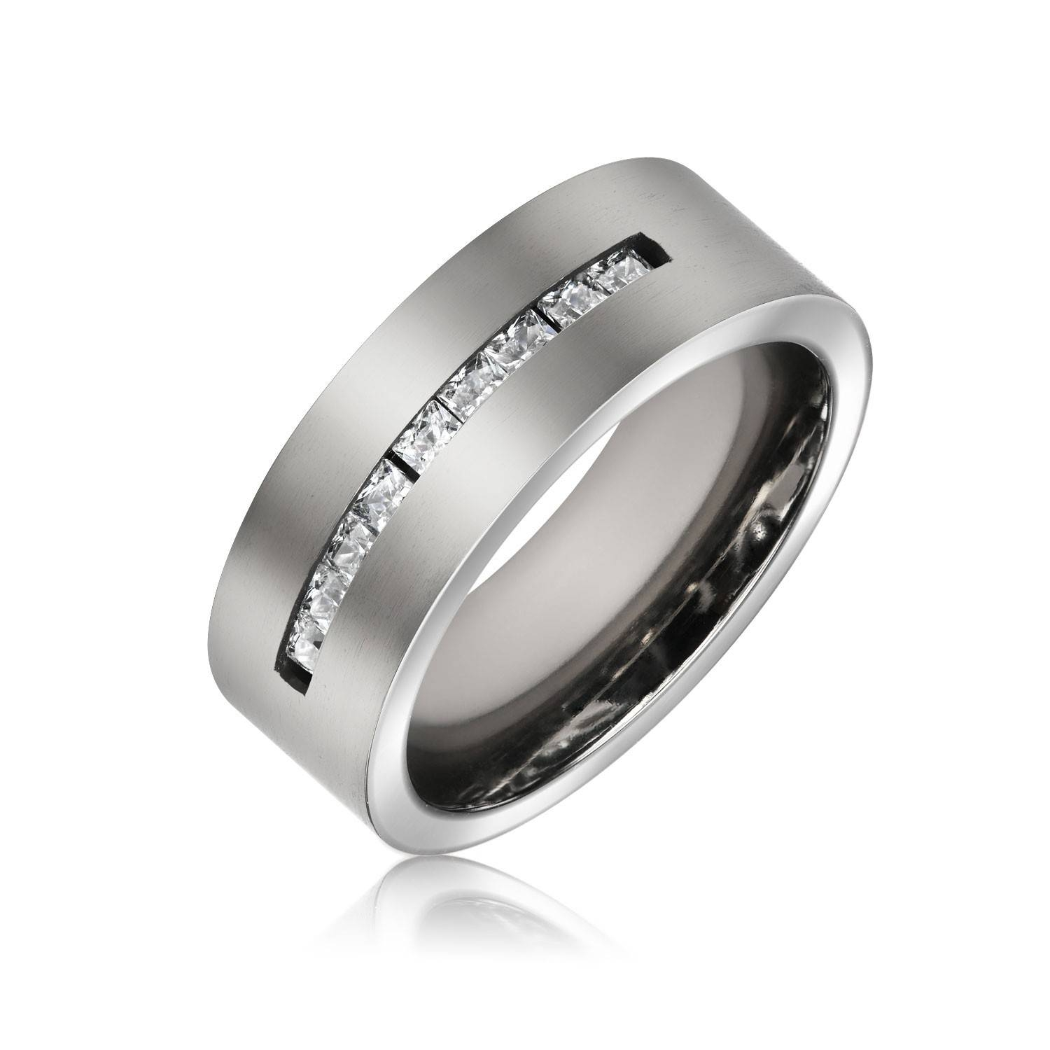 Sterling Silver Wedding Bands – Unique Wedding Bands For Men & Women Throughout Male Silver Wedding Bands (View 13 of 15)