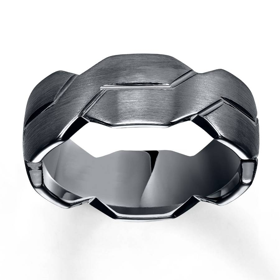 Sterlingjewelers – Woven Wedding Band Black Tungsten Carbide 8mm Inside 8mm Tungsten Carbide Wedding Bands (View 13 of 15)