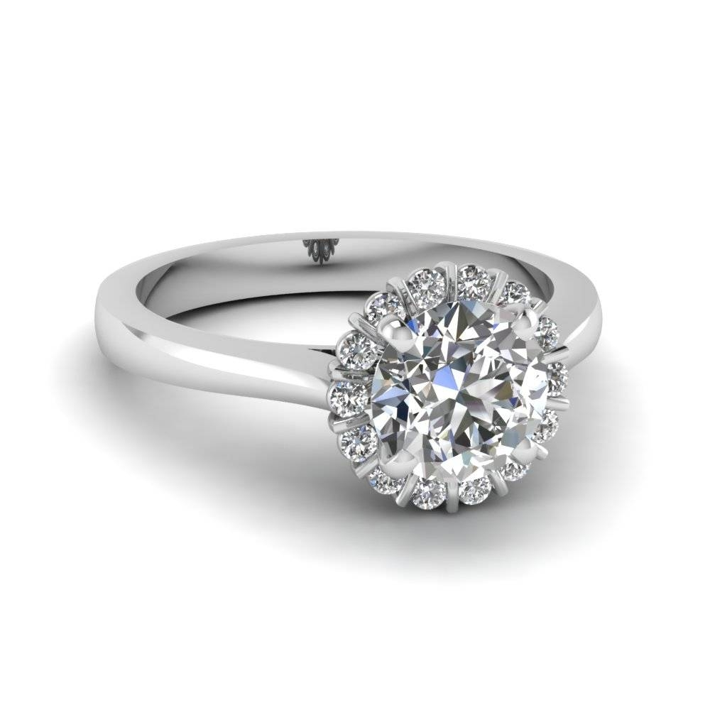 Featured Photo of Halo Style Diamond Engagement Rings