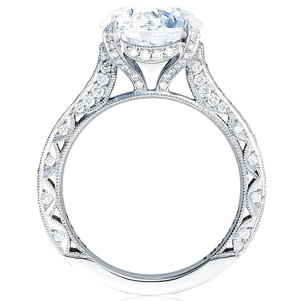 "Tacori – Tacori ""royalt Collection"" Pave Diamond Engagement Ring With Regard To 5 Diamond Engagement Rings (View 11 of 15)"