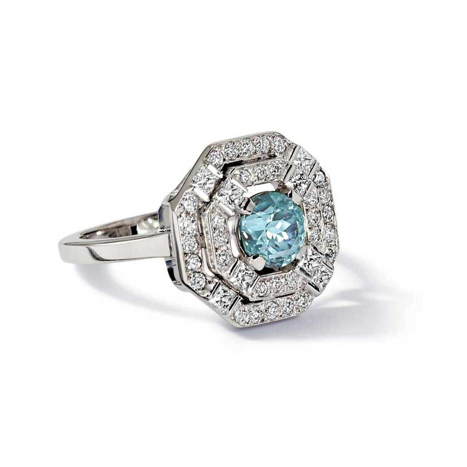 The Hard Truth About Birthstone Engagement Rings | The Jewellery With Regard To Diamond Aquamarine Engagement Rings (View 13 of 15)