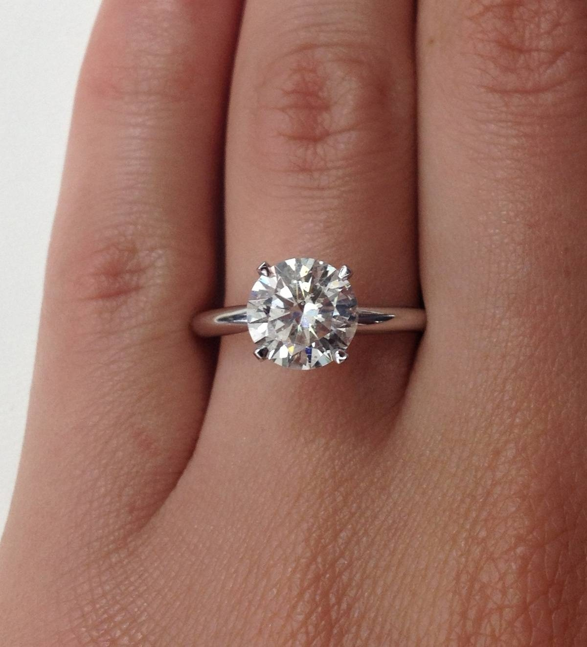 15 Best of 2 Carat Solitaire Engagement Rings