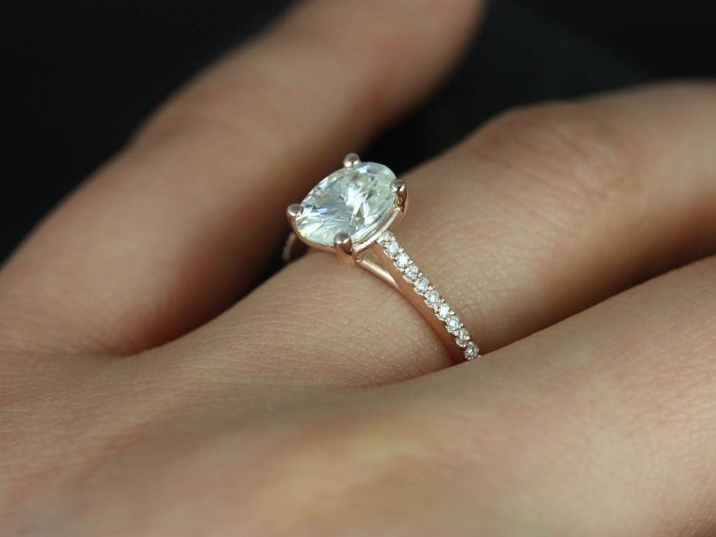 Trends For Rose Gold Oval Wedding Rings Rings Pinterest Silver Throughout Gold Wedding Bands With Silver Engagement Rings (View 11 of 15)