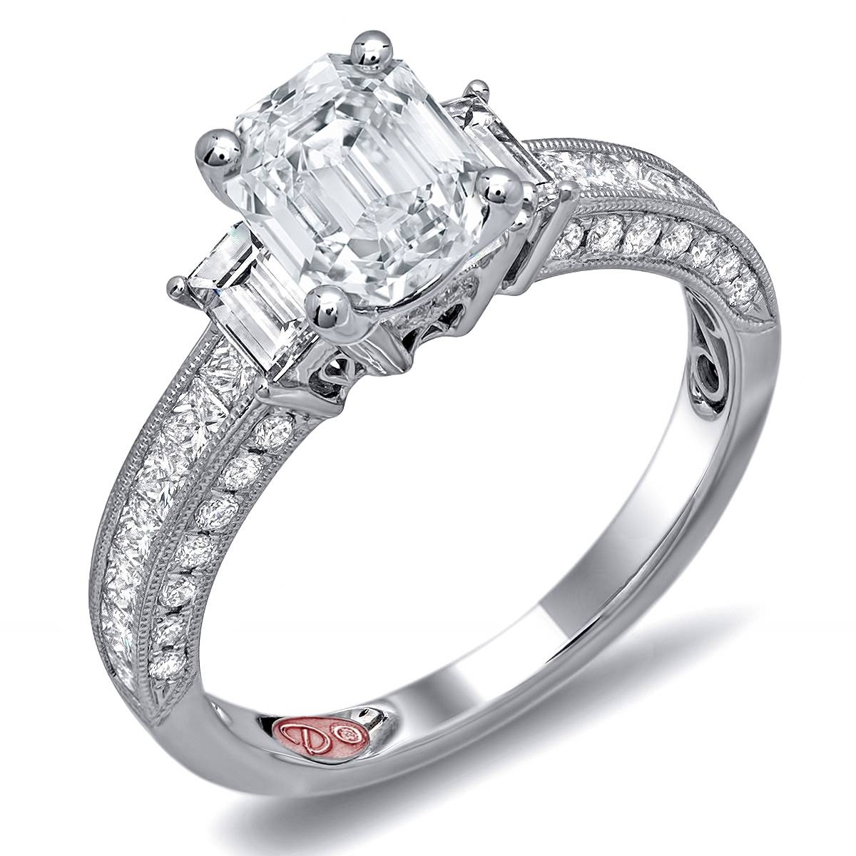 Unicorn Jewelry & Watch Boutique | Unique Engagement Rings – Dw6129 For San Diego Engagement Rings (View 10 of 15)