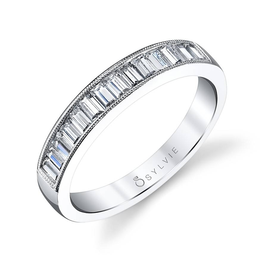 Unique Baguette Diamond Wedding Band | Diamond Wedding Band With Baguette Wedding Bands (View 14 of 15)