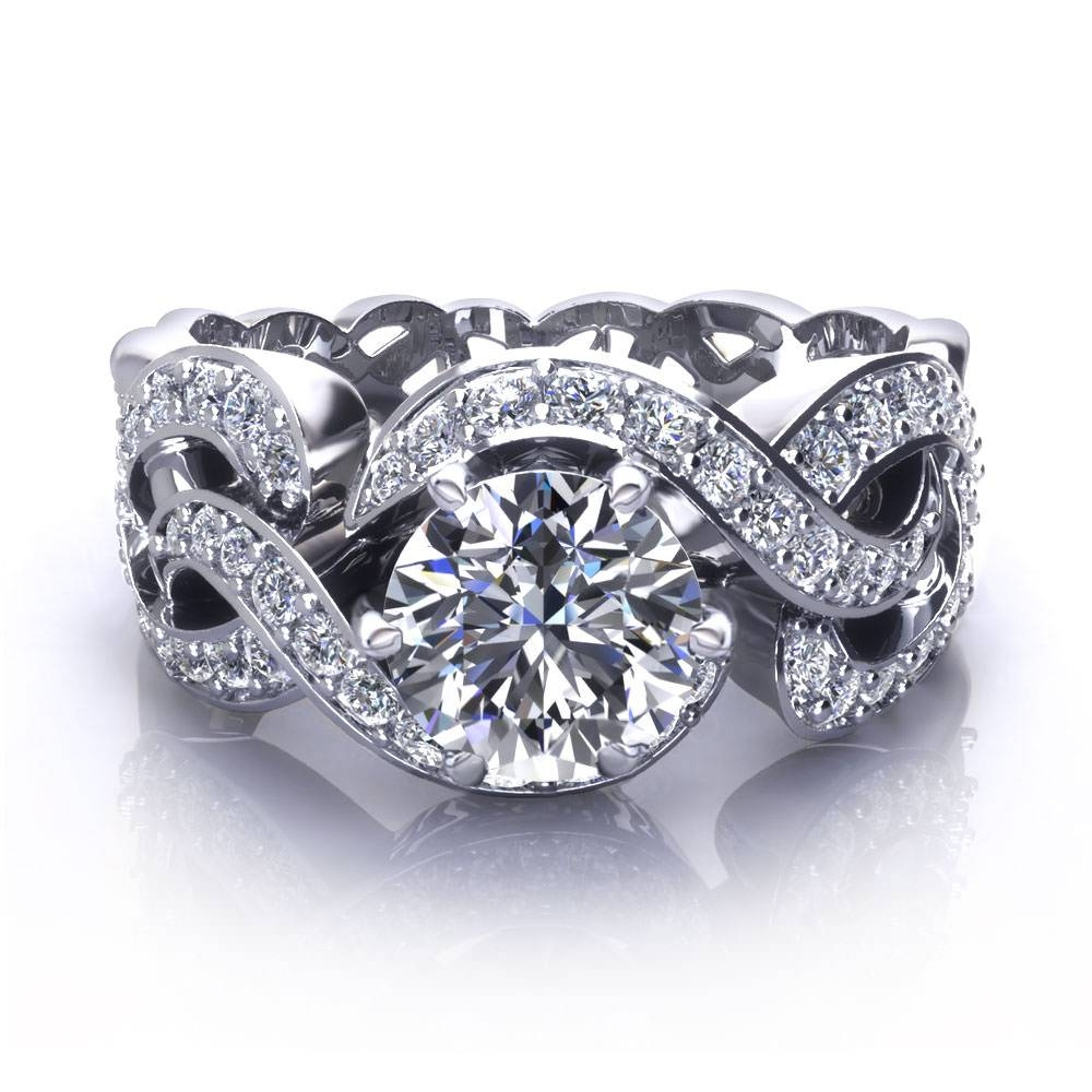 Unique Engagement Rings – Jewelry Designs With Regard To Unique Engagement Rings (View 11 of 15)