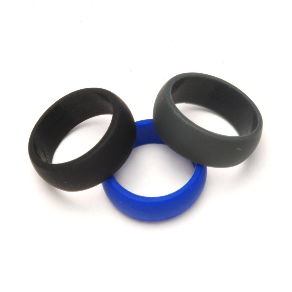Unique Men S Wedding Bands The Yes Throughout Durable For View