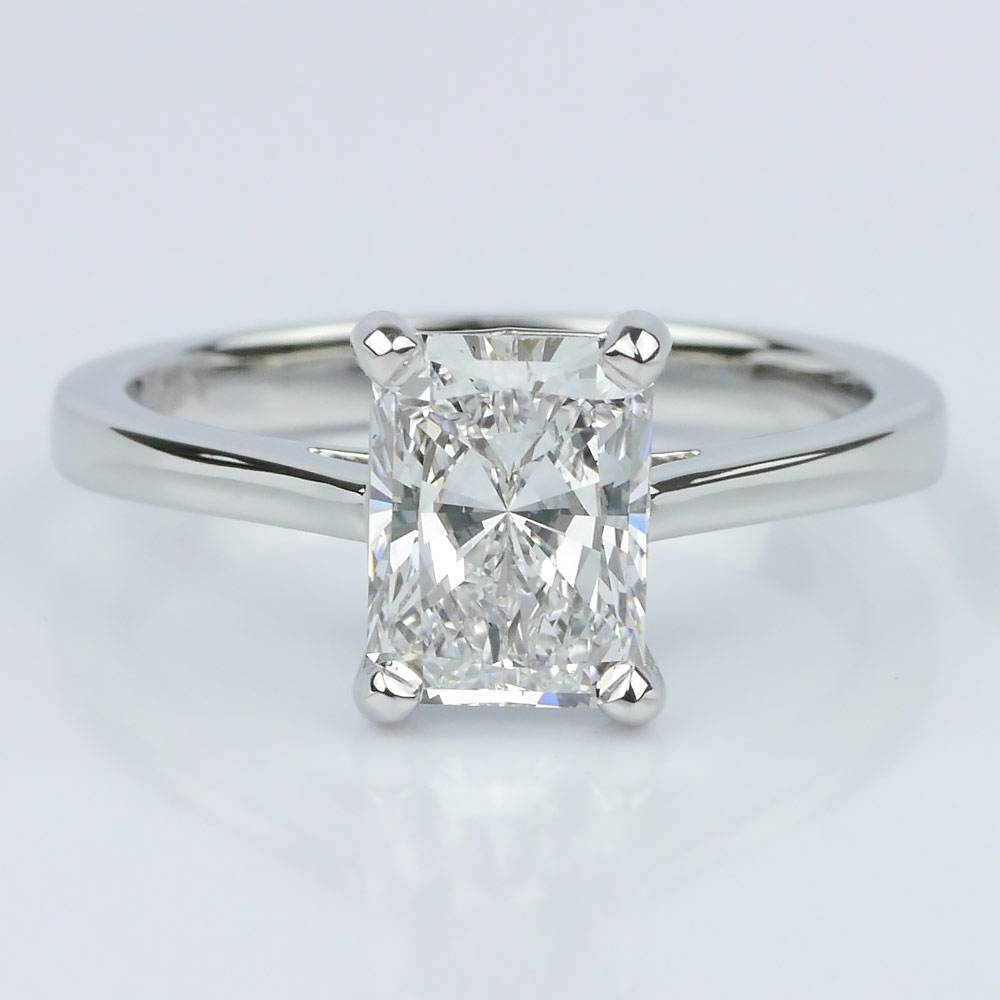 diamond rectangular ring content slides carousel tiffany cut co engagement with emerald rings