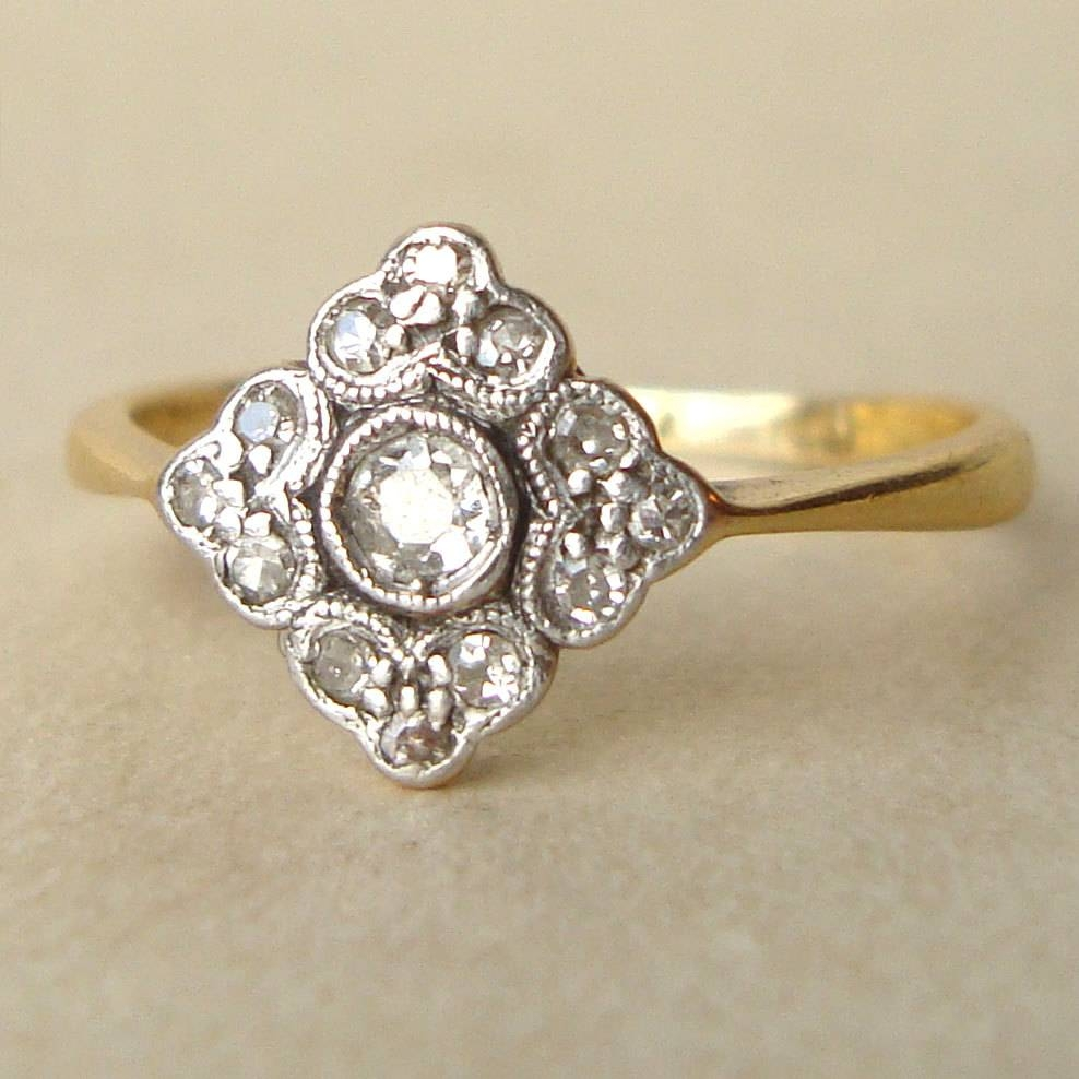 Victorian Diamond Rings | Wedding, Promise, Diamond, Engagement For Victorian Engagement Rings (Gallery 3 of 15)
