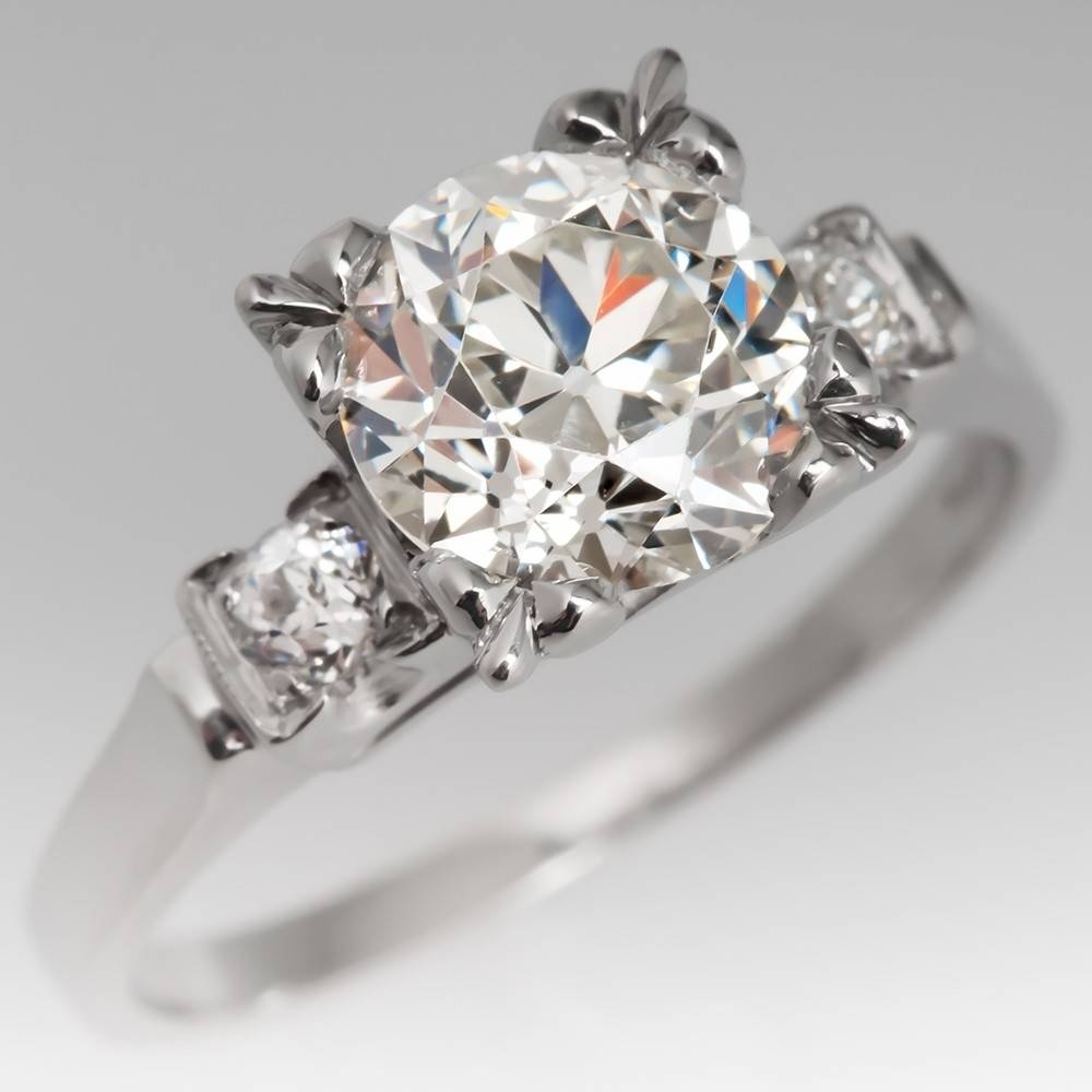 Vintage Engagement Rings | Antique Diamond Rings | Eragem Regarding Phoenix Vintage Engagement Rings (Gallery 13 of 15)