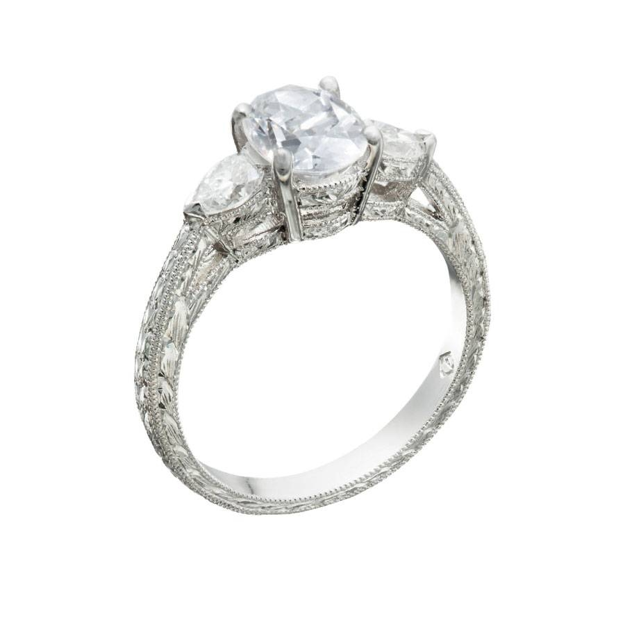 Vintage Engagement Rings Chicago – Christopher Duquet Fine Jewelry Inside Chicago Diamond Engagement Rings (Gallery 10 of 15)