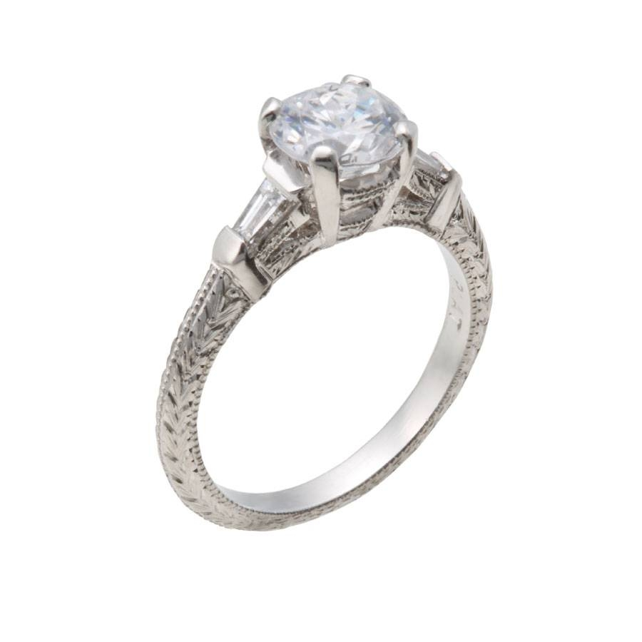 Vintage Engagement Rings Chicago – Christopher Duquet Fine Jewelry With Regard To Chicago Diamond Engagement Rings (Gallery 5 of 15)