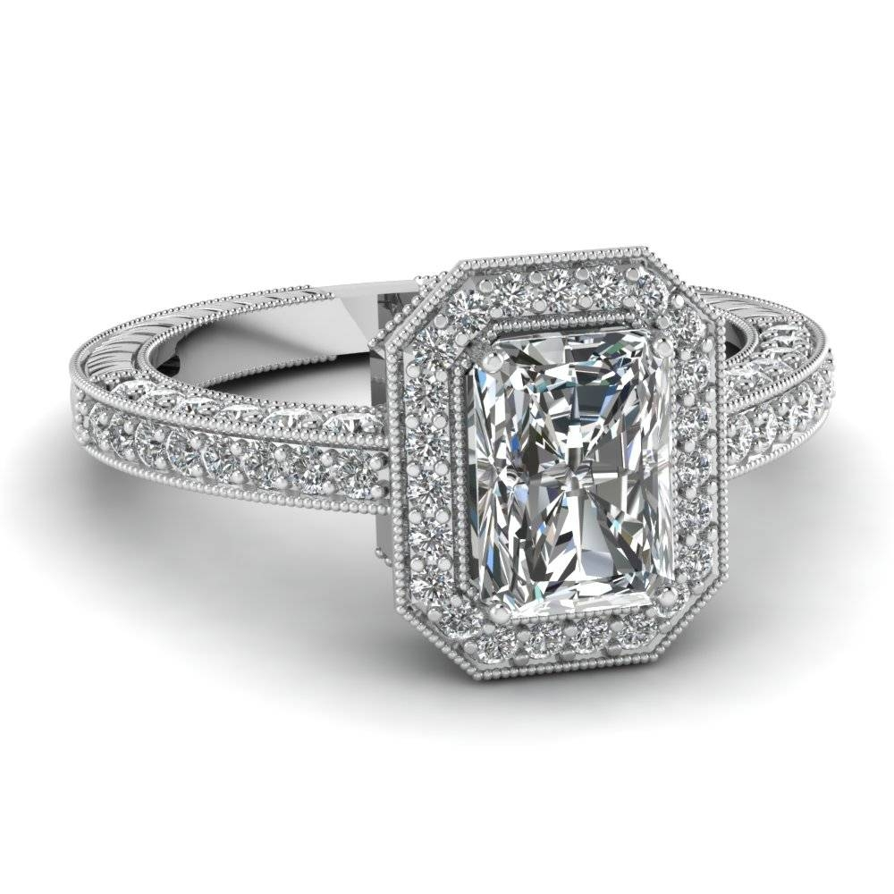Featured Photo of Radiant Cut Engagement Ring Settings