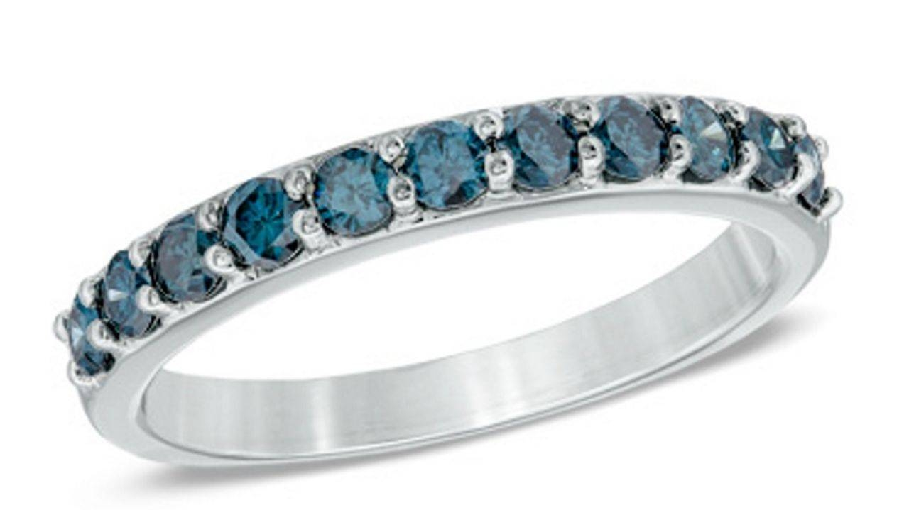 Wedding Band Trends: Wood, Colored Diamonds And More   Am New York Within Colored Diamond Wedding Bands (View 15 of 15)