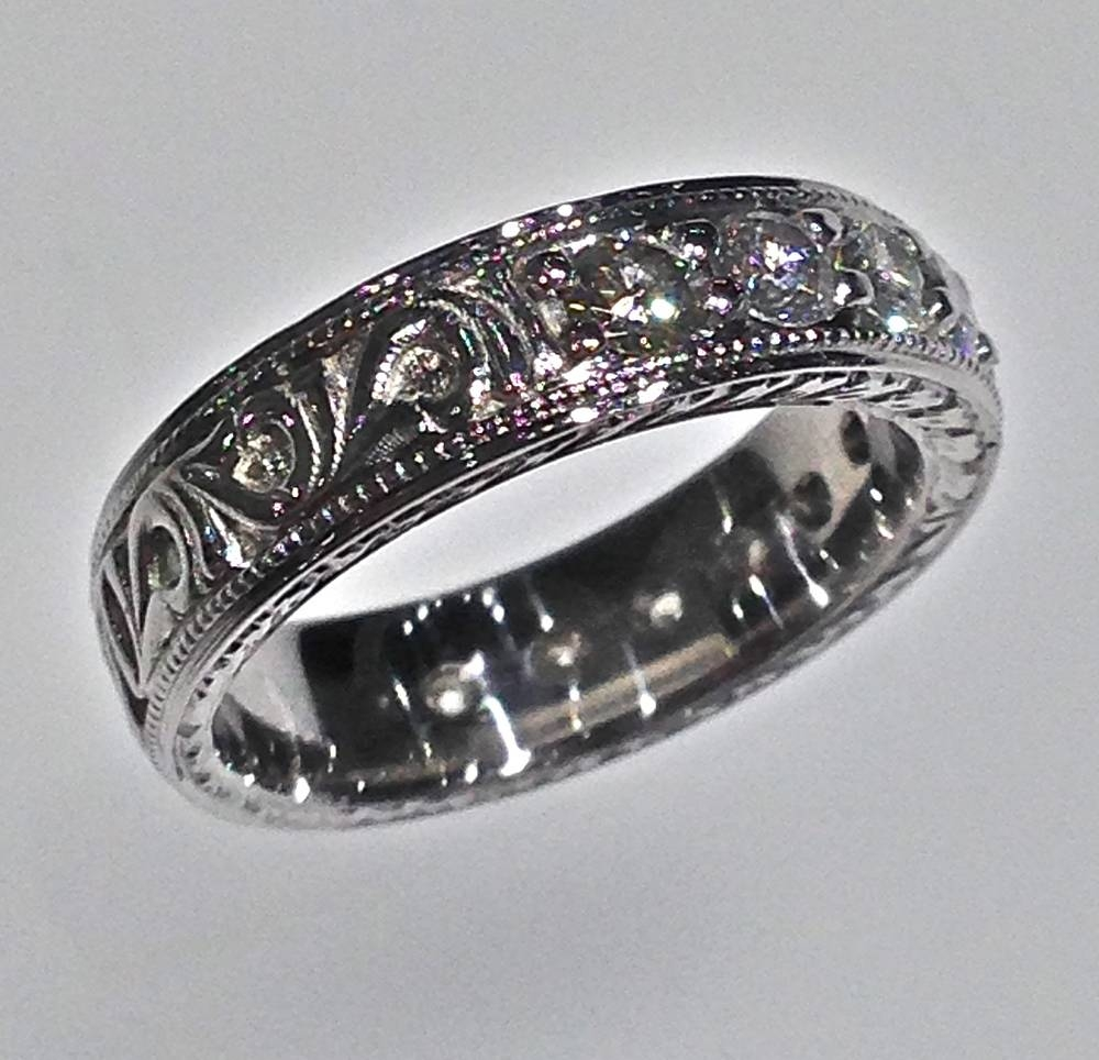 Wedding Bands — Craft Revival Jewelers Pertaining To Most Recently Released Custom Platinum Wedding Bands (View 9 of 15)