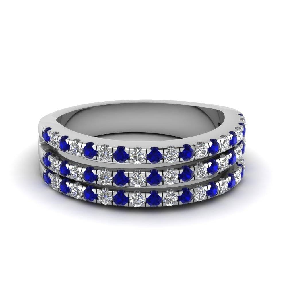 Wedding Bands & Wedding Rings For Women | Fascinating Diamonds In 2018 Sapphire Wedding Bands For Women (View 12 of 15)