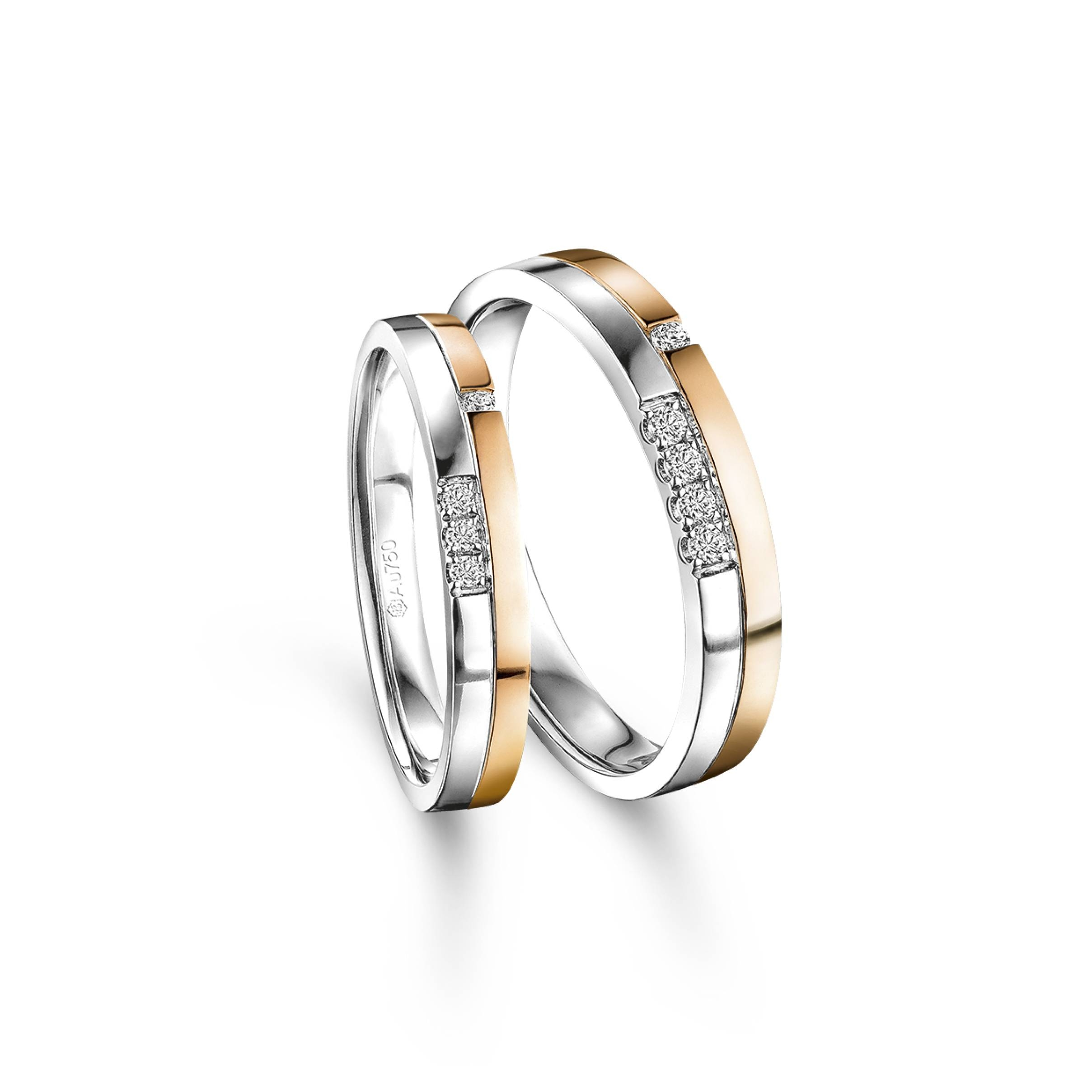 Wedding Collection – Lukfook Jewellery|Lukfook Jewellery Official Intended For Wedding Bands On Necklace (View 11 of 15)